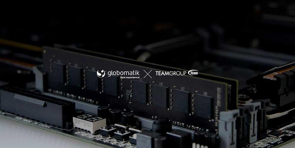 Globomatik enriquece su portfolio con las soluciones de TeamGroup