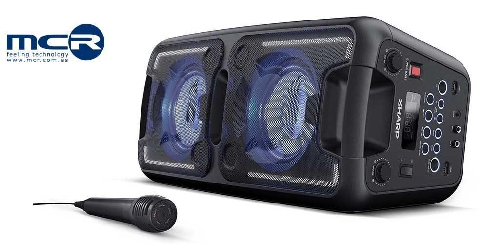 MCR distribuye en exclusiva en España las soluciones de audio de Sharp
