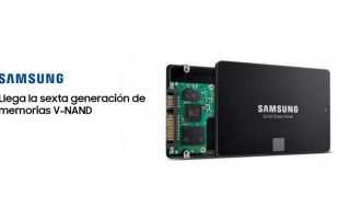 Samsung Electronics lleva las SSDs a un nuevo nivel con la sexta generación de memorias V-NAND