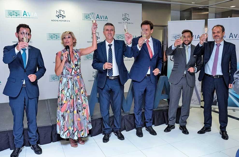 Ekon patrocina por cuarto año consecutivo la Noche del Motor de la Comunidad Valenciana, organizada por AVIA