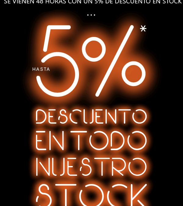 5% de descuento en STOCK de Infowork Technology