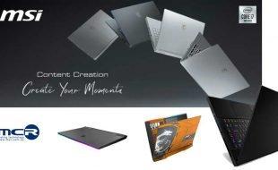Nuevos portatiles de MSI