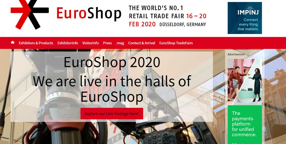 PCMIRA en la feria EuroShop 2020