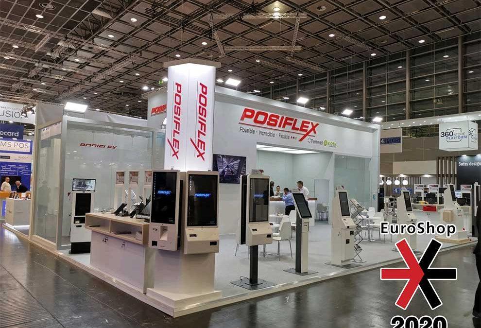 Posiflex amplía su gama de kioskos en la feria EuroShop