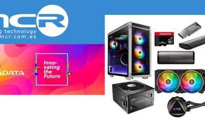 MCR añade a su portfolio de producto las soluciones de memoria y multimedia de ADATA