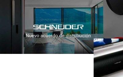 MCR añade a su catálogo los productos de Schneider