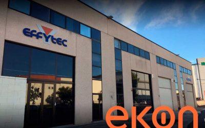 Effytec obtiene mayor información en tiempo real con la implantación de Ekon