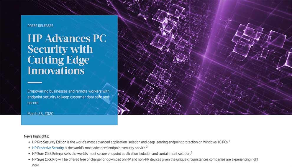 HP pone en marcha iniciativas para ayudar a sus socios y clientes
