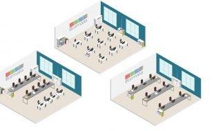 La formación presencial en centros se permite en la fase 2