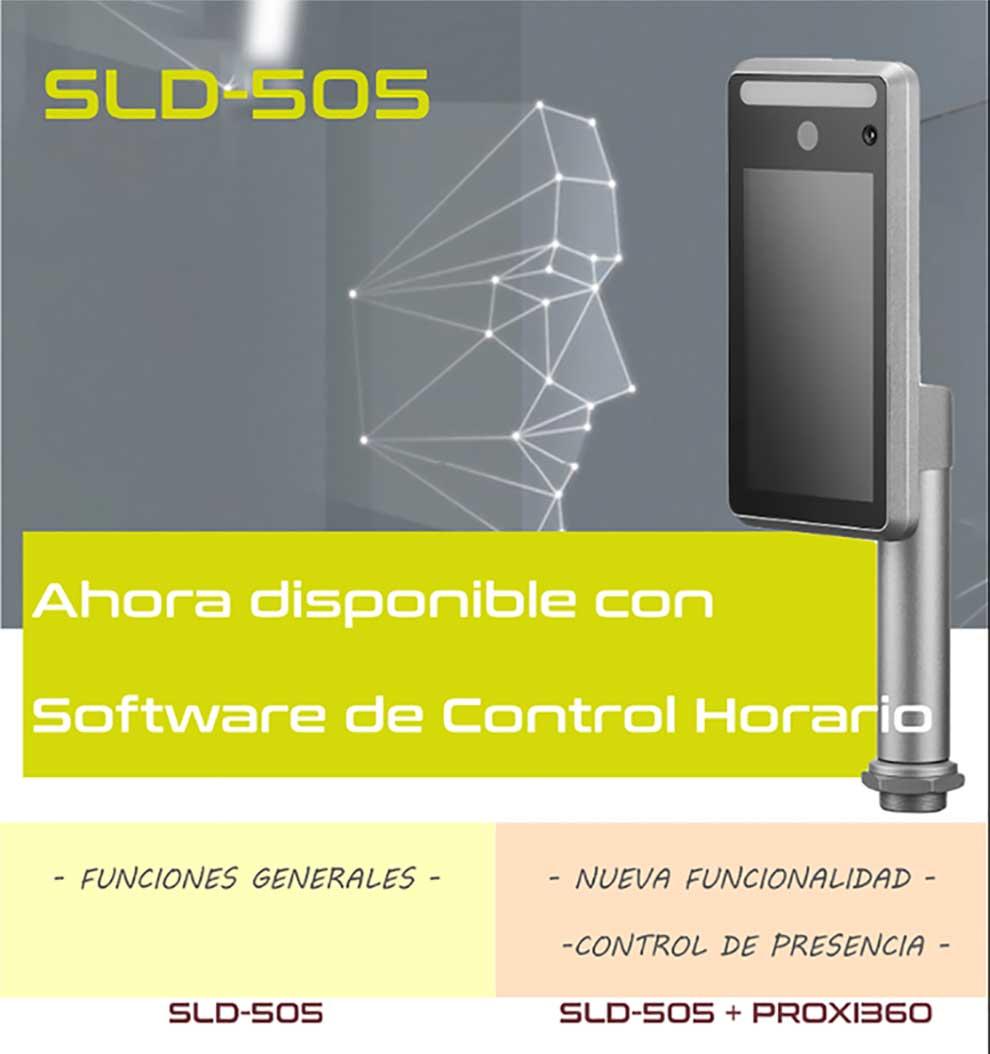 Premier SLD-505 con reconocimiento facial y control de presencia - CanalPress