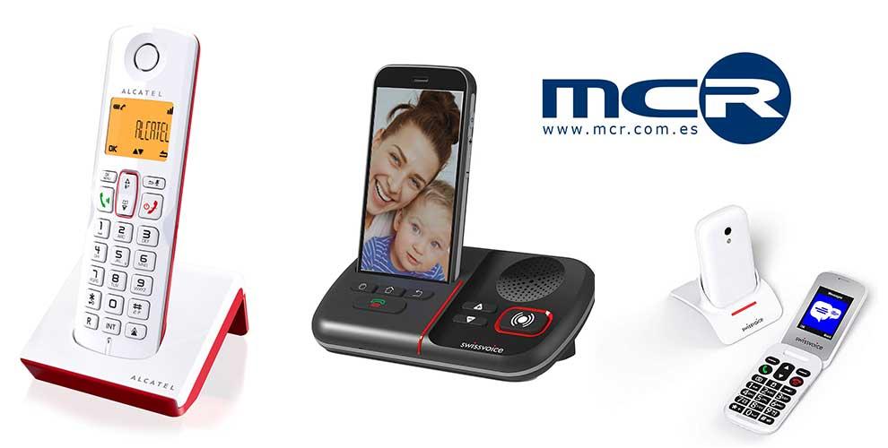 MCR añade las soluciones para personas mayores de Alcatel y Swissvoice