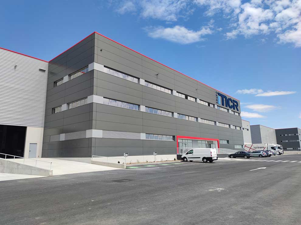 nueva sede de MCR mayoristas informatica