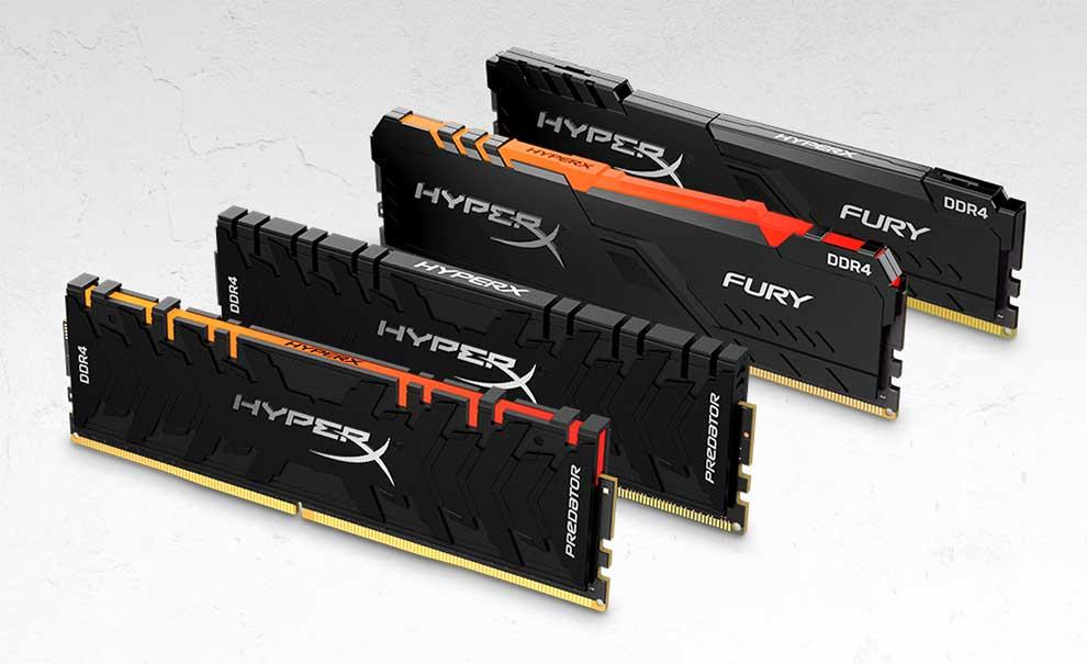 Hyper X módulos de memoria