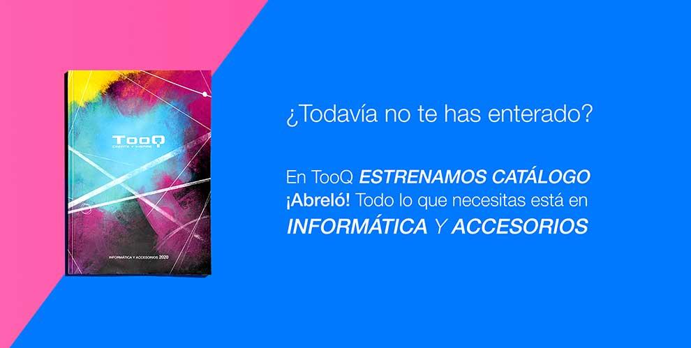 TooQ presenta una nueva edición del catálogo de informática y Accesorios