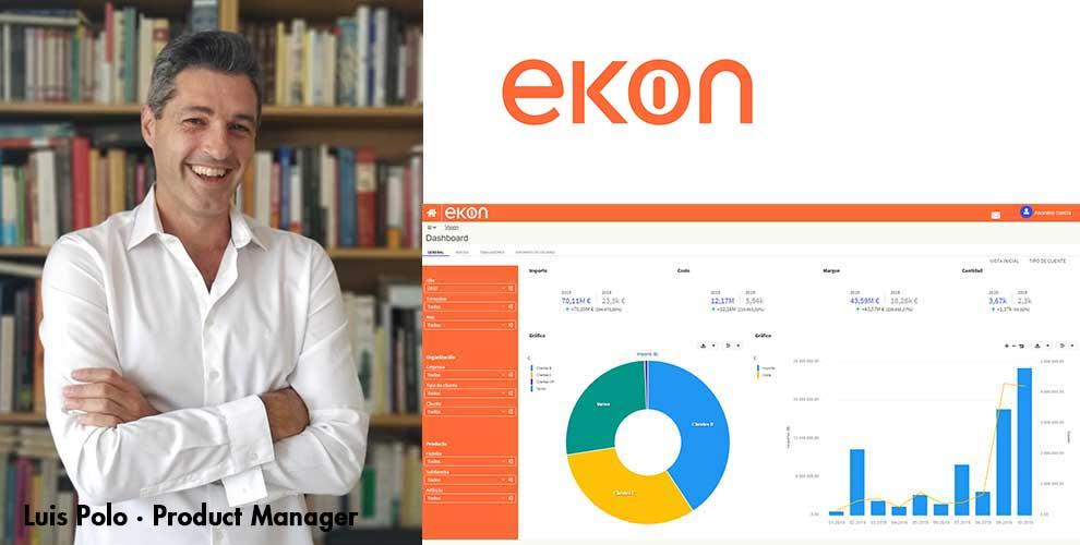 Ekon presenta su nueva solución Ekon Vision para potenciar la analítica de los ERP