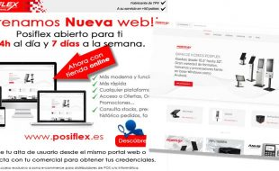 Posiflex iberica estrena nueva web