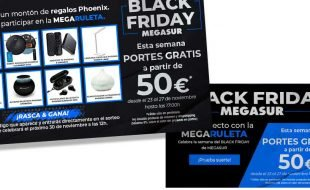 Black Friday en Megasur