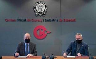 Acuerdo Cambra de Comerç de Sabadel y ekon