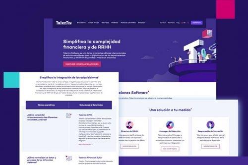 Talentia Software lanza su nueva web