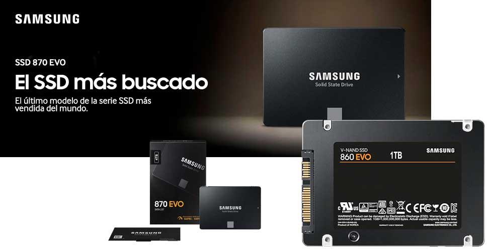 Samsung presenta 870 EVO, lo último en SSD SATA, la gama de consumo más vendida del mundo