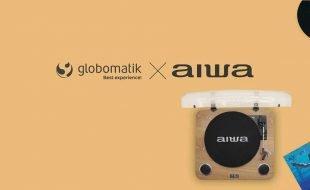 Globomatik firma acuerdo de distribución con Aiwa