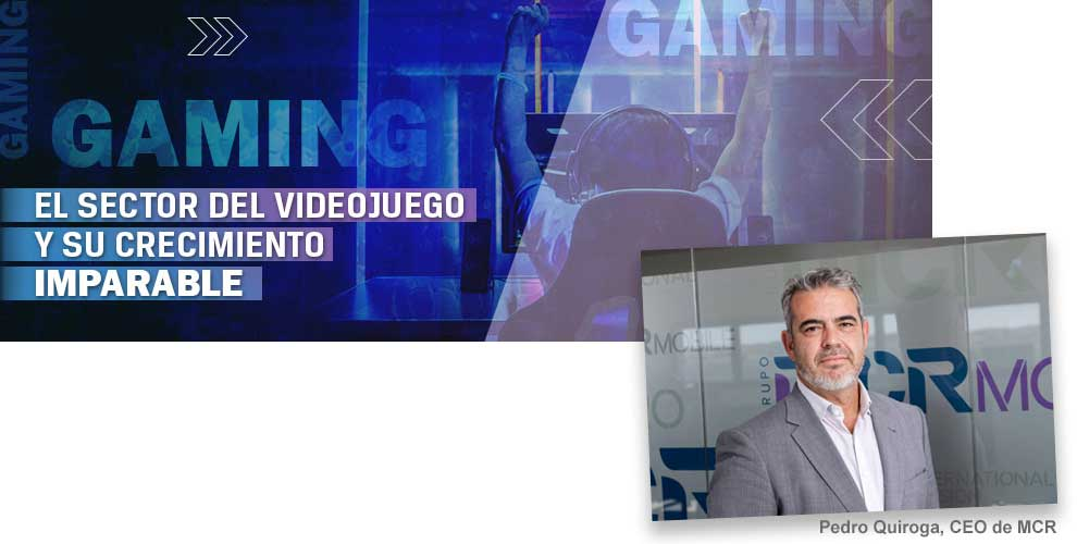 El sector del videojuego y su crecimiento imparable
