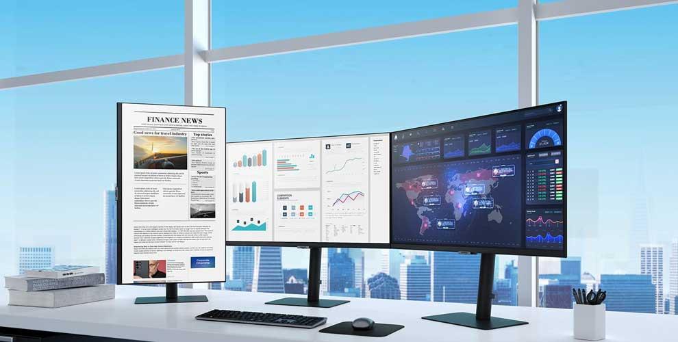 Samsung lanza una nueva línea de monitores de alta resolución
