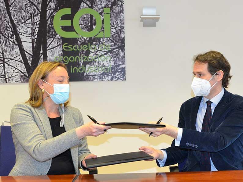 ZTE apoya la innovación en la industria española con un nuevo acuerdo con la EOI