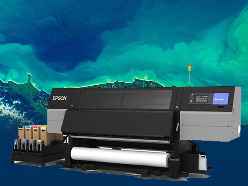 Epson amplía su gama de impresoras de sublimación de tinta de 76 pulgadas con SC-F10000H