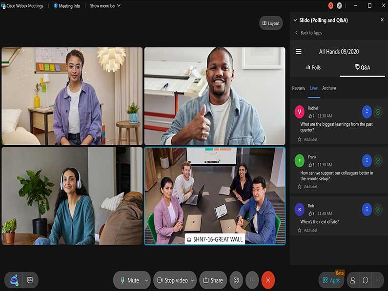 Cisco renueva Webex para la era del trabajo y los eventos híbridos