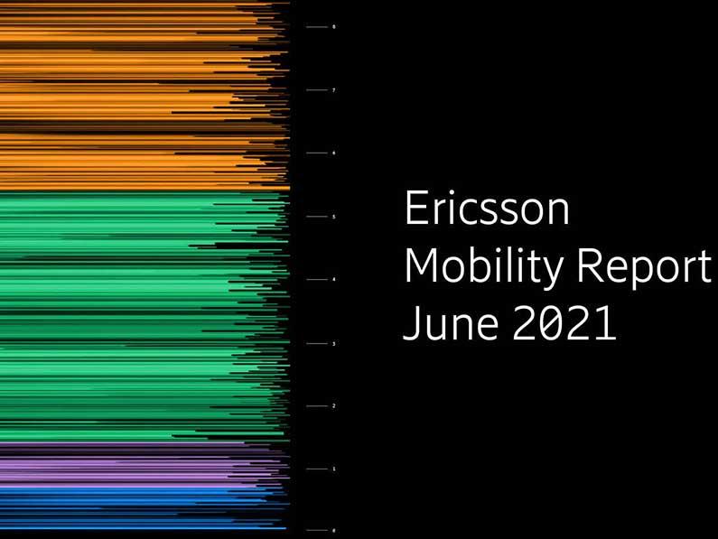 Informe de Movilidad de Ericsson, para finales de 2021 más de 500m suscripciones 5G