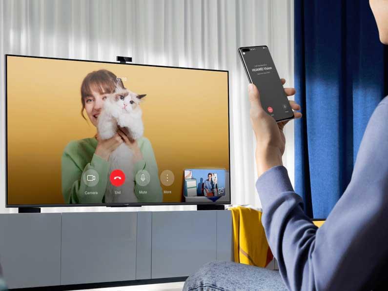 HUAWEI Vision S: El salón del futuro ya está aquí gracias a las Smart Screens