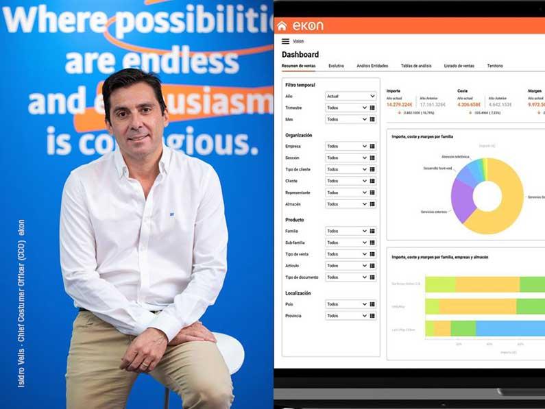 La Inteligencia de negocio de Ekon permite mejora la toma de decisiones estratégicas