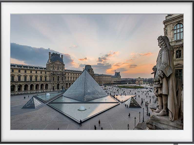 Samsung suma las obras maestras del Louvre a su colección de arte en los televisores The Frame