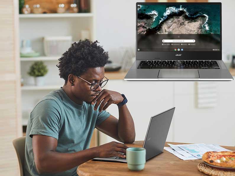 Acer presenta nuevos Chromebook de pantalla grande