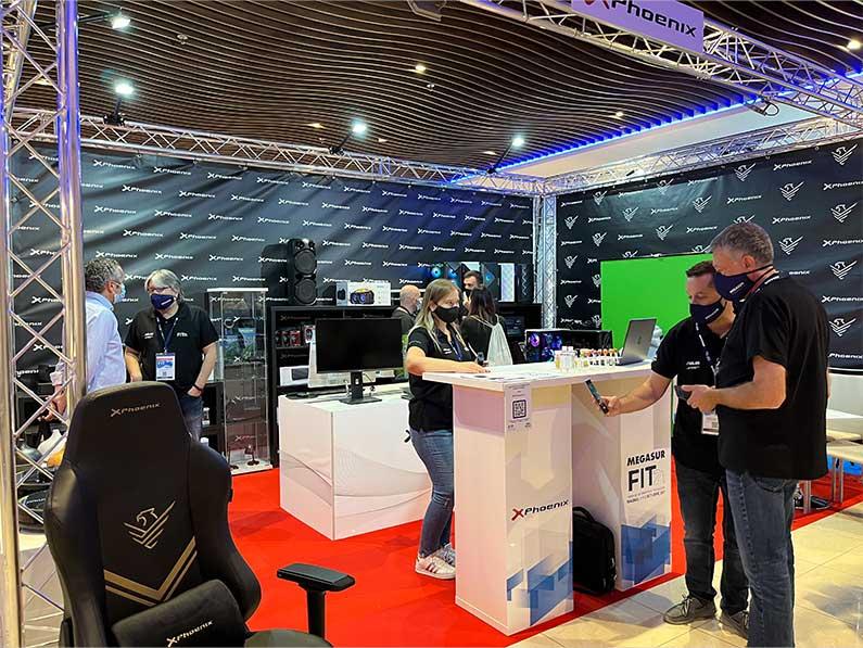 Gran afluencia de profesionales en el FIT21 de Megasur